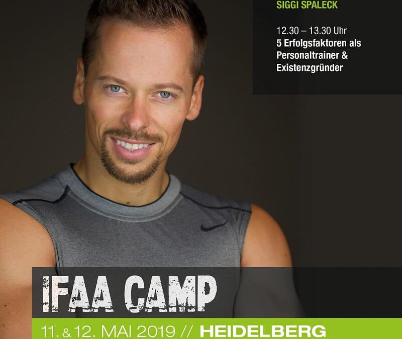 IFAA CAMP 2019  Fitness – , Functional-, Athletic- & Personal Training