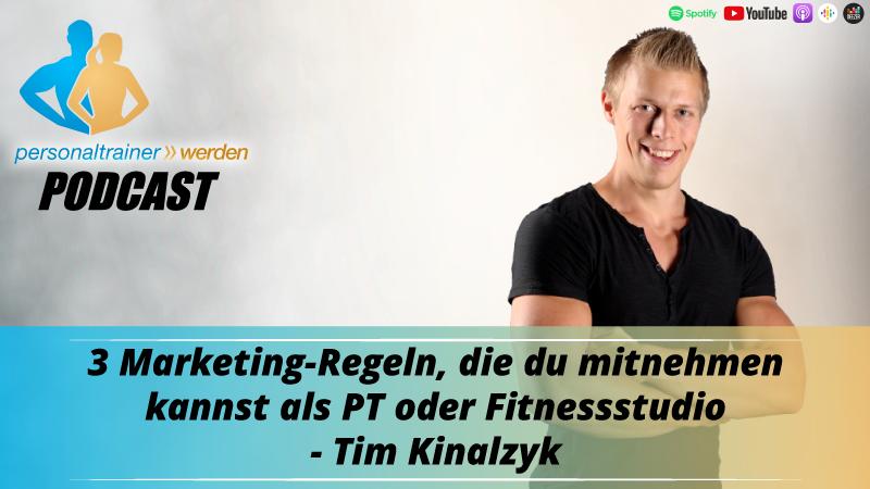3 Marketing-Regeln für Personal Trainer und Fitnessstudios - Tim Kinalzyk