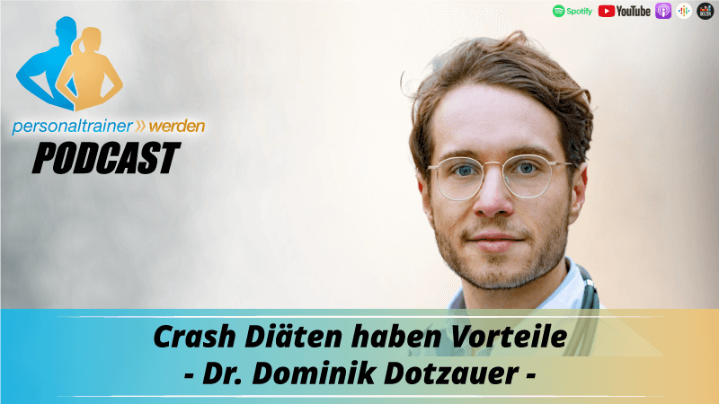 Crash-Diäten haben Vorteile - Dr. Dominik Dotzauer