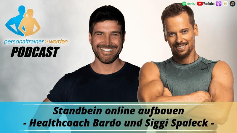 Standbein online aufbauen - HealthCoach Bardo und Siggi Spaleck